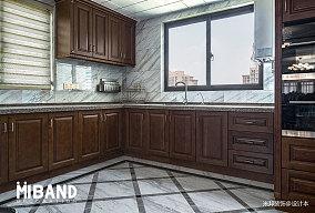 悠雅109平美式四居厨房实景图片