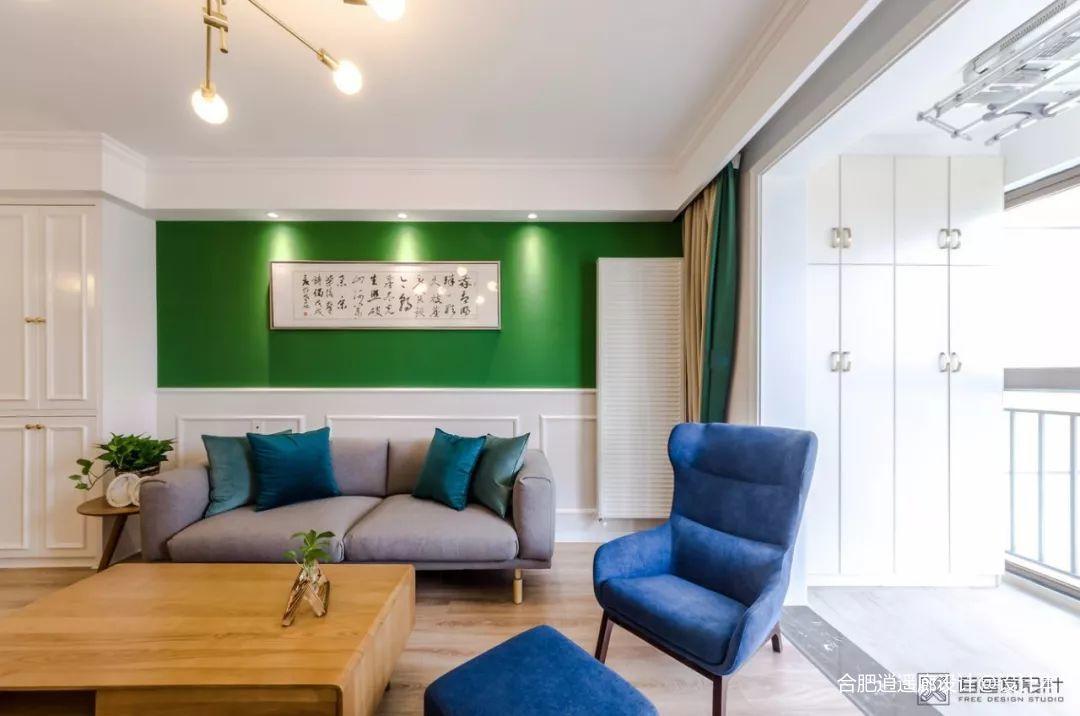 大气105平混搭四居客厅装修美图客厅