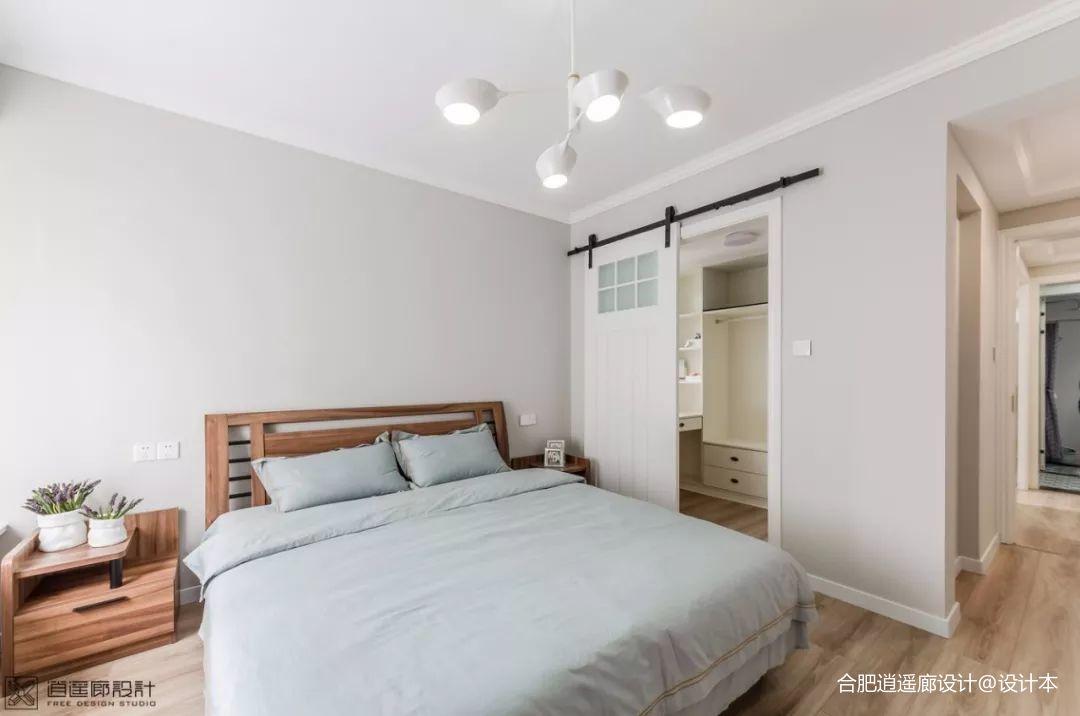 典雅105平混搭四居卧室装潢图卧室