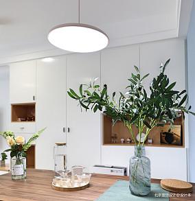 简洁55平北欧二居餐厅装修装饰图厨房北欧极简设计图片赏析