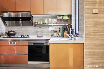 华丽89平中式三居厨房装修效果图餐厅