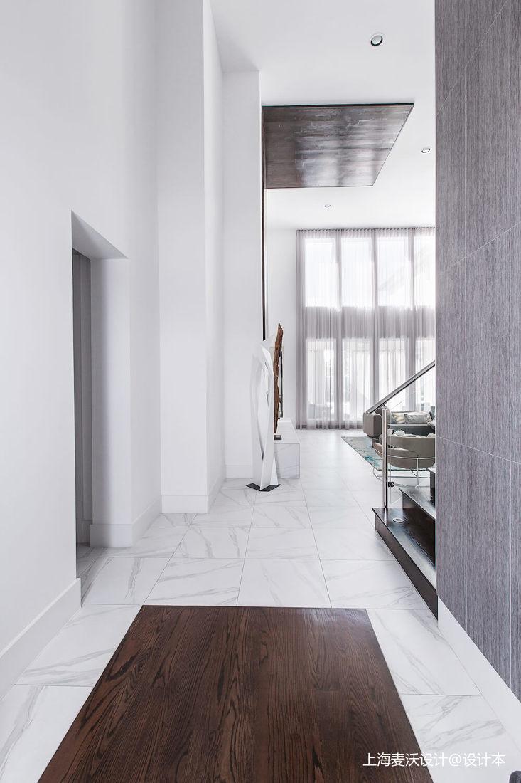 悠雅138平北欧复式客厅设计效果图北欧极简设计图片赏析
