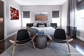 轻奢57平北欧复式卧室装修图复式北欧极简家装装修案例效果图