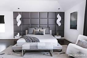 温馨59平北欧复式卧室美图复式北欧极简家装装修案例效果图