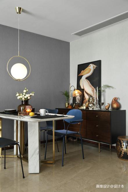 质朴117平混搭三居餐厅装修设计图厨房