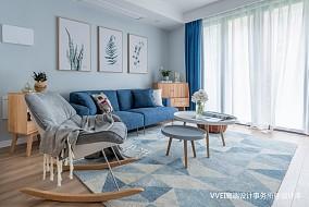 精美135平北欧三居客厅装饰美图