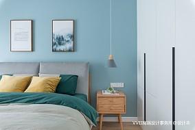 温馨126平北欧三居卧室装修美图卧室1图设计图片赏析