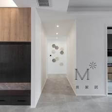 温馨124平现代三居装修美图