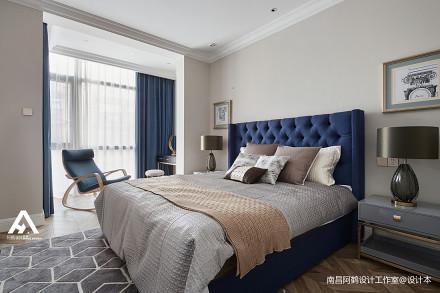 简洁45平混搭复式卧室案例图卧室