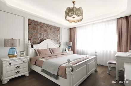 大气83平美式三居卧室设计美图卧室