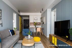 典雅120平北欧三居客厅设计效果图