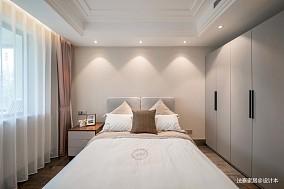 精美103平中式三居卧室效果图卧室1图中式现代设计图片赏析