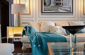 平美式三居装修图片三居美式经典家装装修案例效果图