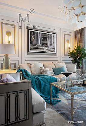 浪漫104平美式三居实景图三居美式经典家装装修案例效果图