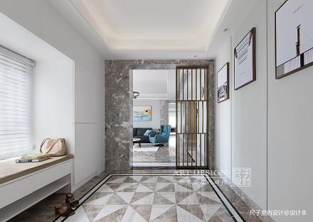 向往的生活四居住宅美式风格玄关装饰设计图玄关