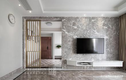 【尺子室内设计】向往的生活客厅