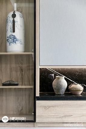 质朴129平中式三居客厅装饰图片