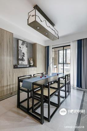 浪漫88平中式三居餐厅设计案例厨房中式现代设计图片赏析