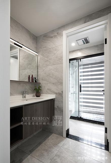 向往的生活四居住宅美式风格卫浴装饰设计图卫生间