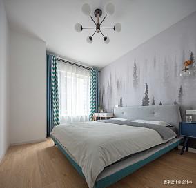 精美121平北欧三居卧室设计美图