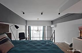 温馨26平现代小户型卧室设计图