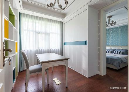 典雅60平混搭复式卧室装修效果图