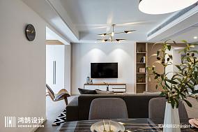 温馨125平现代四居餐厅设计案例