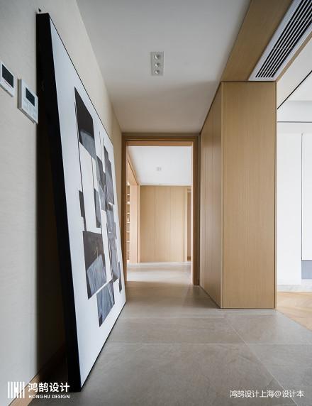 华丽220平日式复式玄关图片欣赏复式日式家装装修案例效果图