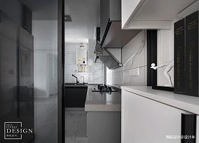 质朴73平现代三居厨房案例图