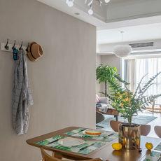 悠雅109平欧式三居餐厅装饰美图