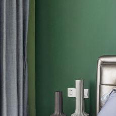 质朴110平欧式三居卧室装饰图片