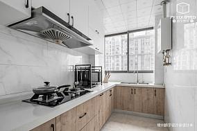 大气76平美式三居厨房装饰图三居美式经典家装装修案例效果图