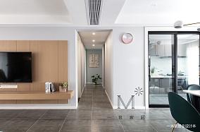 精致88平北欧二居客厅实景图片二居北欧极简家装装修案例效果图