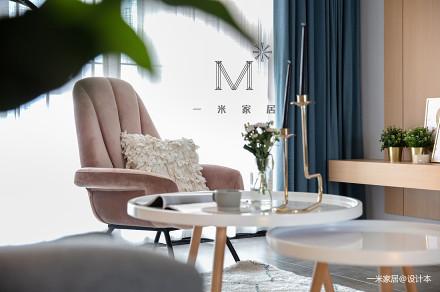 典雅140平北欧二居装饰图片二居北欧极简家装装修案例效果图
