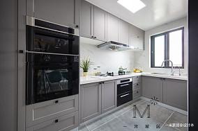 优美58平北欧二居厨房效果图片大全二居北欧极简家装装修案例效果图