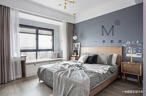 轻奢87平北欧二居客厅设计图二居北欧极简家装装修案例效果图