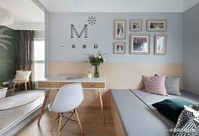 大气57平北欧二居客厅布置图二居北欧极简家装装修案例效果图