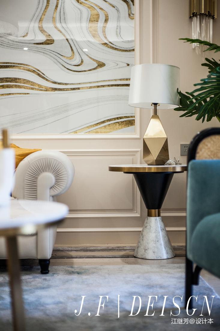 精致97平简欧三居客厅装修装饰图客厅北欧极简客厅设计图片赏析