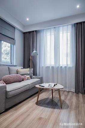 优美39平简约小户型客厅设计图一居现代简约家装装修案例效果图