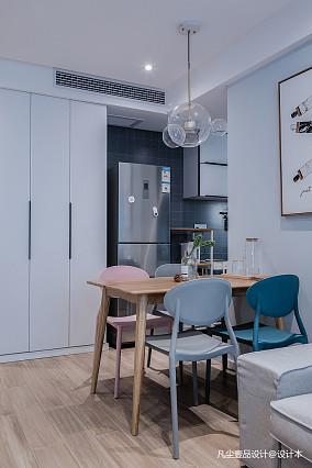 大气35平简约小户型餐厅实拍图一居现代简约家装装修案例效果图
