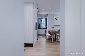 大气21平简约小户型过道设计效果图一居现代简约家装装修案例效果图