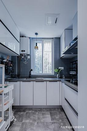 温馨37平简约小户型厨房装修图片一居现代简约家装装修案例效果图
