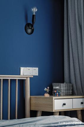 明亮30平简约小户型卧室设计图一居现代简约家装装修案例效果图