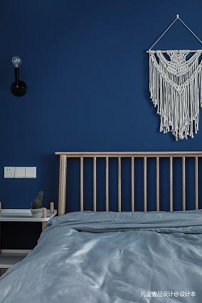 简洁32平简约小户型卧室装修案例一居现代简约家装装修案例效果图