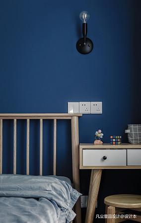 优美35平简约小户型卧室装饰图片一居现代简约家装装修案例效果图