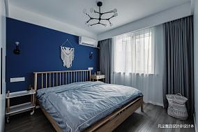 简洁27平简约小户型卧室美图一居现代简约家装装修案例效果图