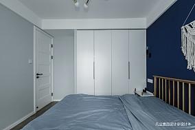 明亮29平简约小户型卧室装饰图一居现代简约家装装修案例效果图