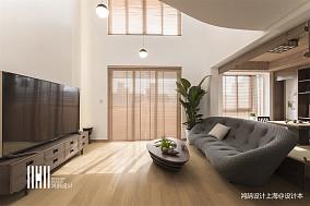 温馨200平日式复式客厅效果图