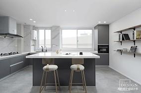 质朴129平北欧三居厨房装修图