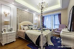 悠雅83平新古典三居卧室装修设计图